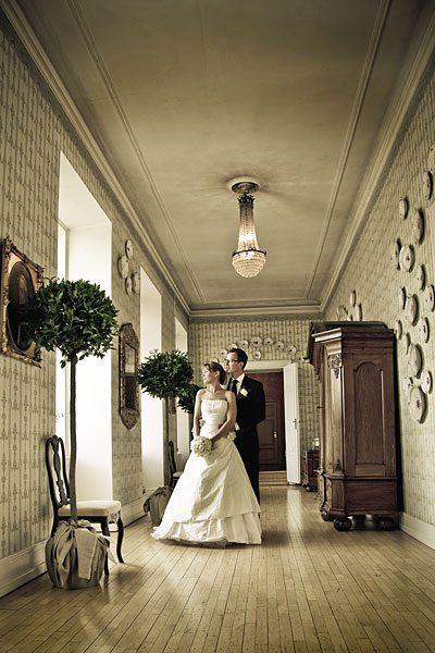 portrætfotograf brudepar holckenhavn slottet