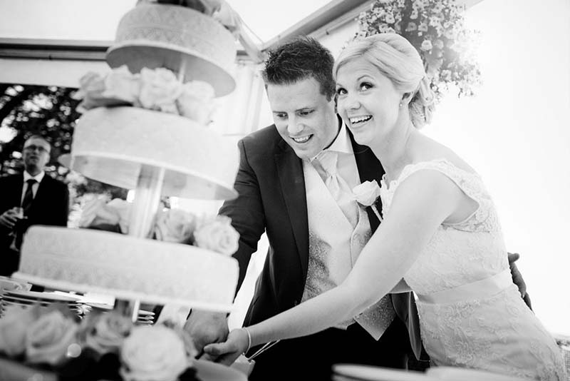 Bandholm Hotel bryllups foto