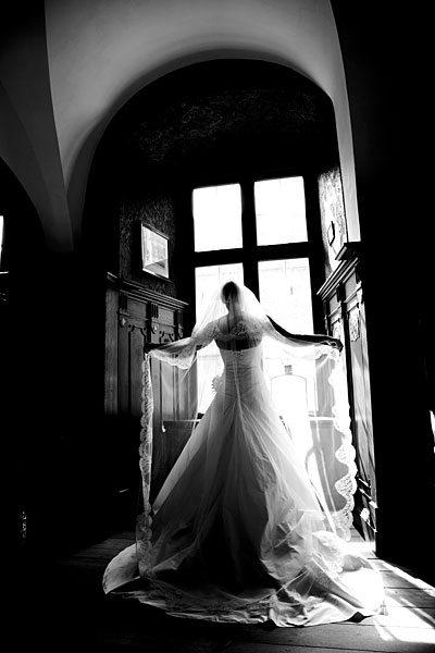 portræt af bruden