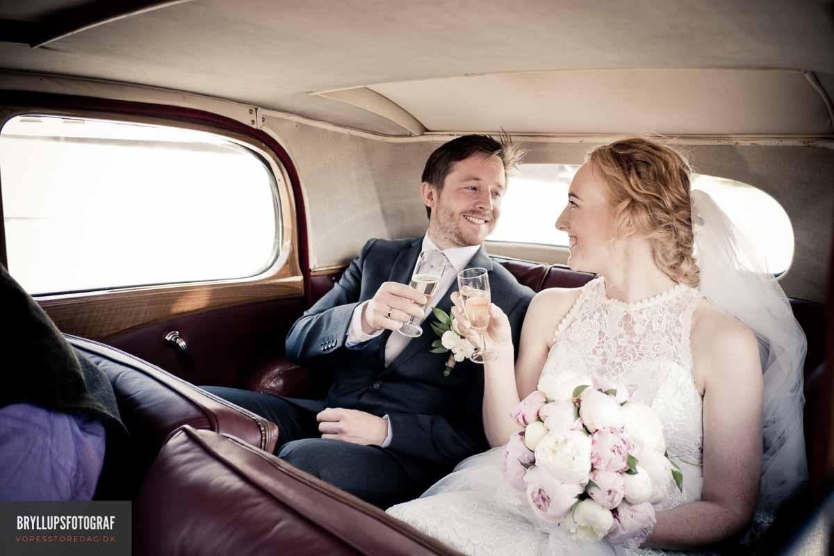 Bryllupsbilleder med fotokunstnerisk touch