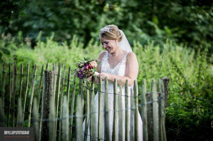 Bryllupsfotograf Kokkedal Slot