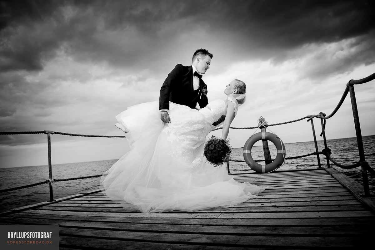 Bryllup i Vestjylland